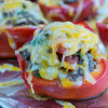 Quinoa and Tomato Stuffed Bell Peppers