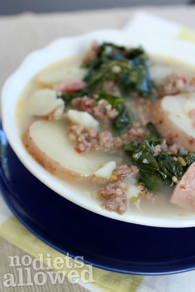 Healthy Olive Garden Copycat Zuppa Toscana No Diets Allowed