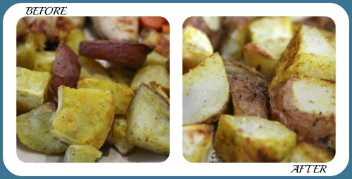 Potato Wedges Collage- No Diets Allowed