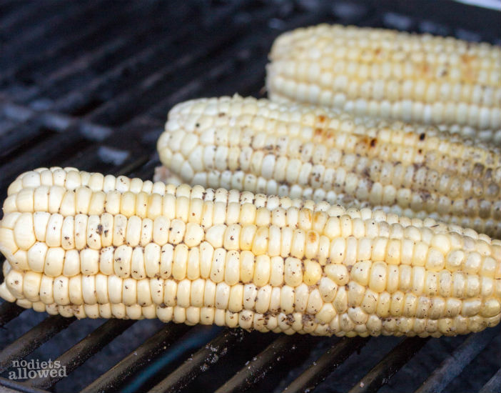 Fire Grilled Corn-On-The-Cob