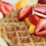 whole wheat waffle recipe- No Diets Allowed