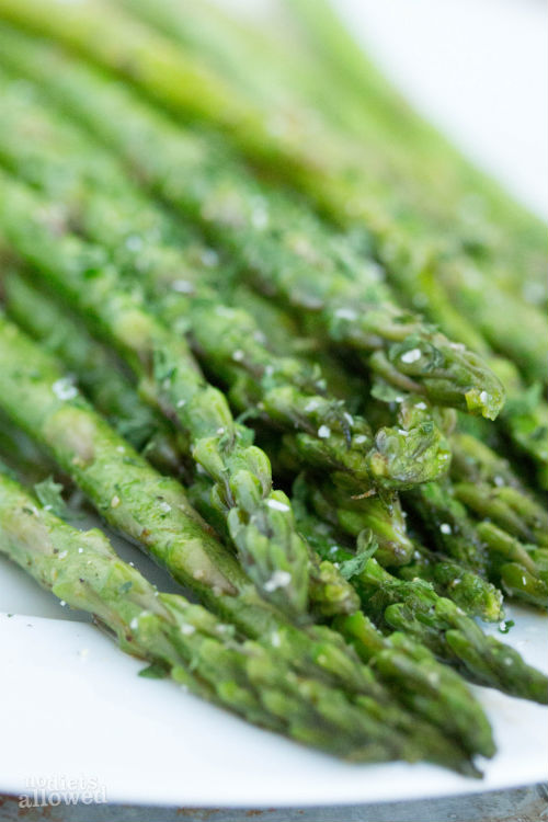 easy asparagus recipes - No Diets Allowed
