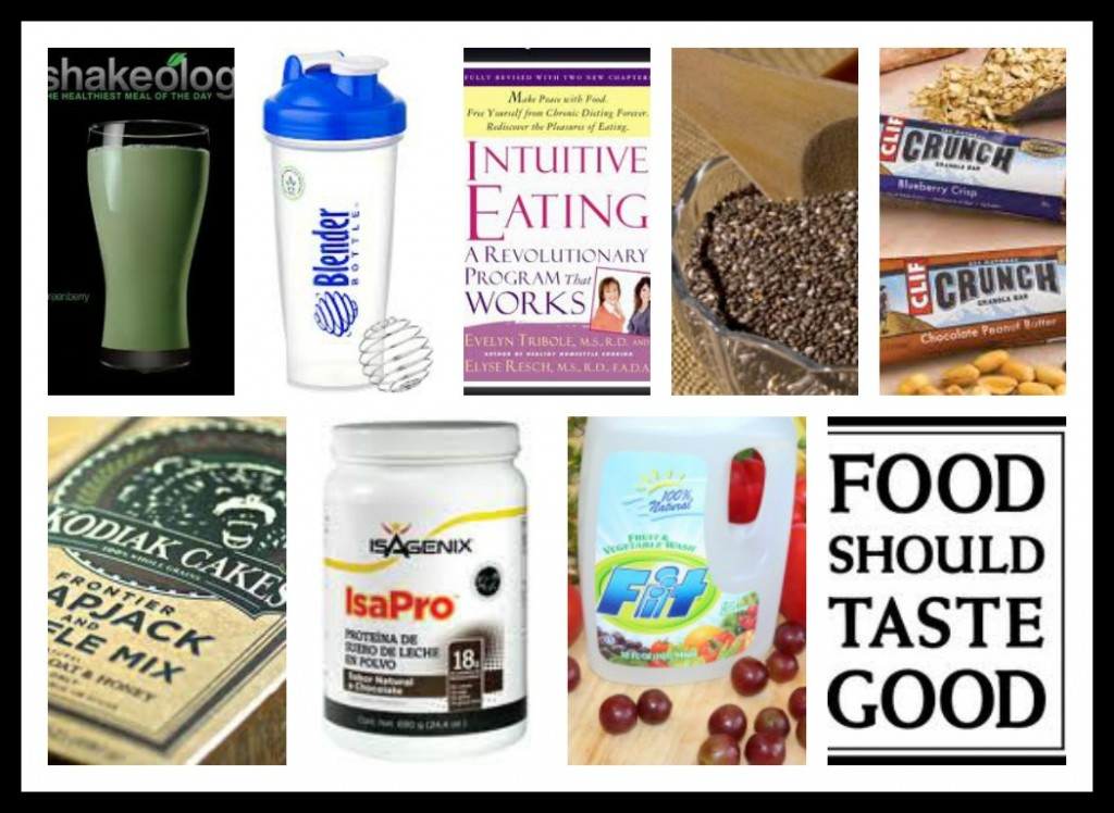 Giveaway items 1024x748 Favorite Healthy Things Giveaway!
