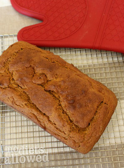 Pumpkin Bread- No Diets Allowed