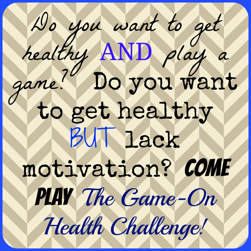 Welcome to The Game-On Health Challenge!