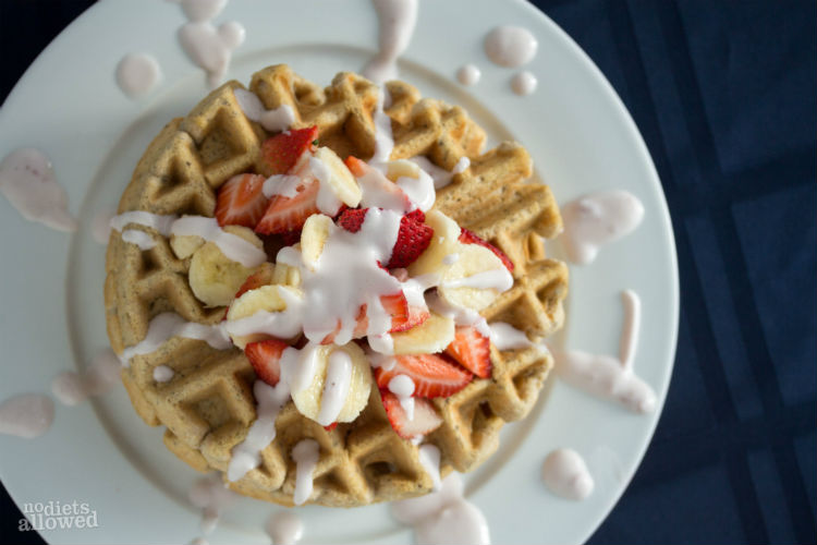 gluten free waffle recipe - No Diets Allowed