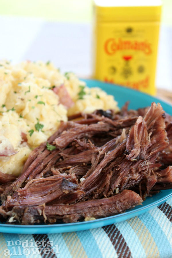 Beef Roast with Spicy Mustard