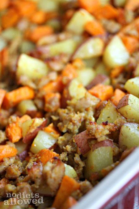 Roasted Breakfast Potatoes- No Diets Allowed
