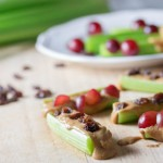 celery with peanut butter- No Diets Allowed