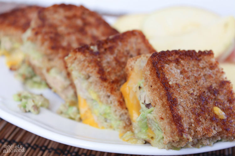 Grilled Tuna Cheese Sandwich