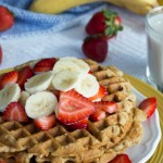 banana waffles- No Diets Allowed