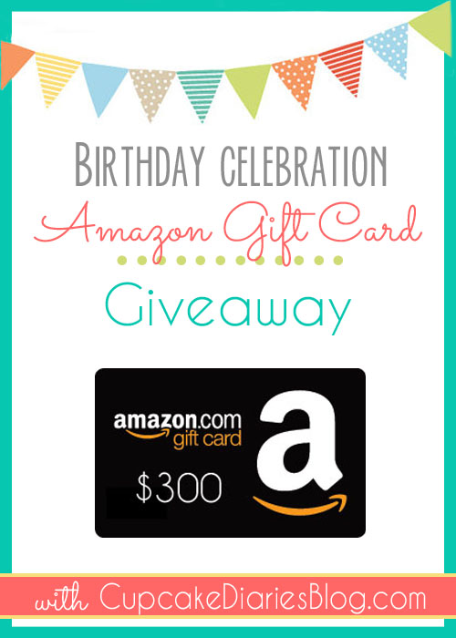 $300 Amazon Giftcard Giveaway!