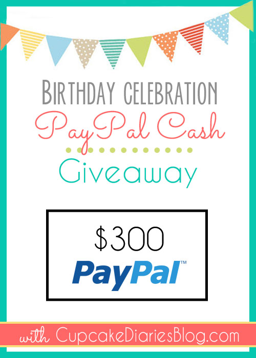 $300 PayPal Cash Giveaway!