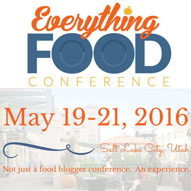 Everything Food Conference - No Diets Allowed