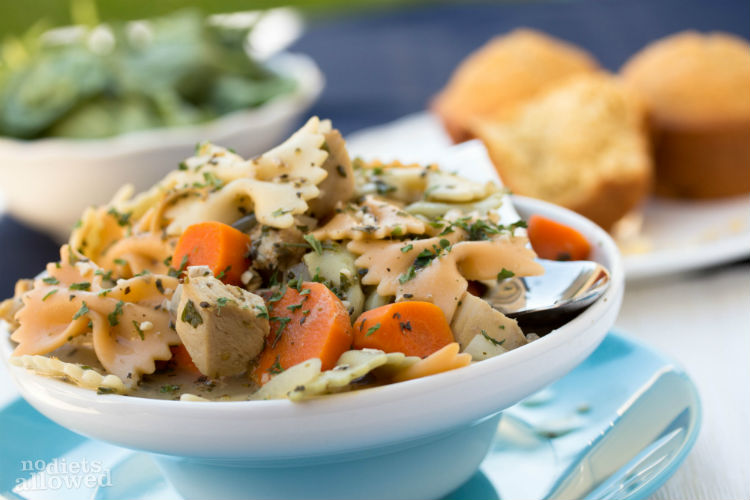 creamy chicken noodle soup recipes - No Diets Allowed