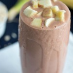 banana apple smoothie - No Diets Allowed