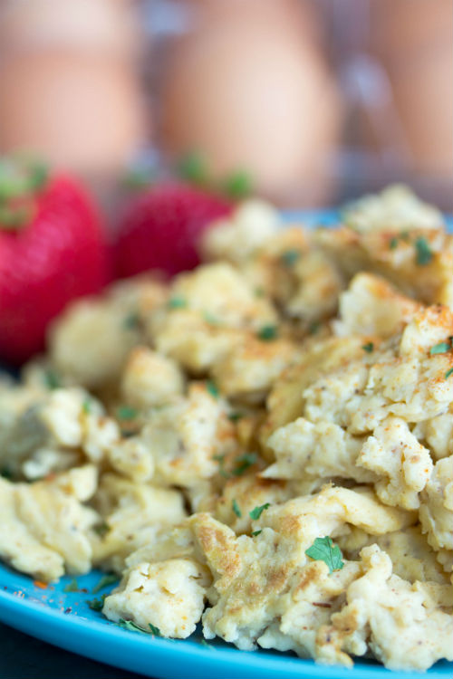 Cajun Scrambled Eggs