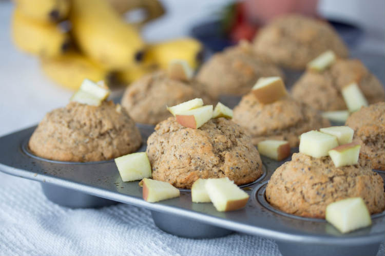 chia muffins - No Diets Allowed