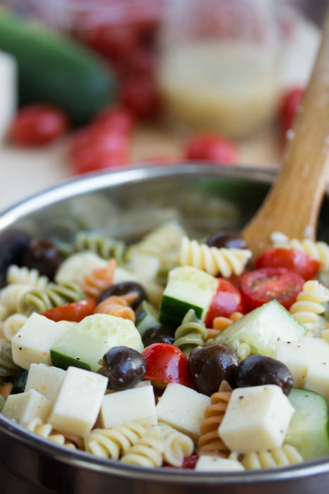 pasta salad italian - No Diets Allowed