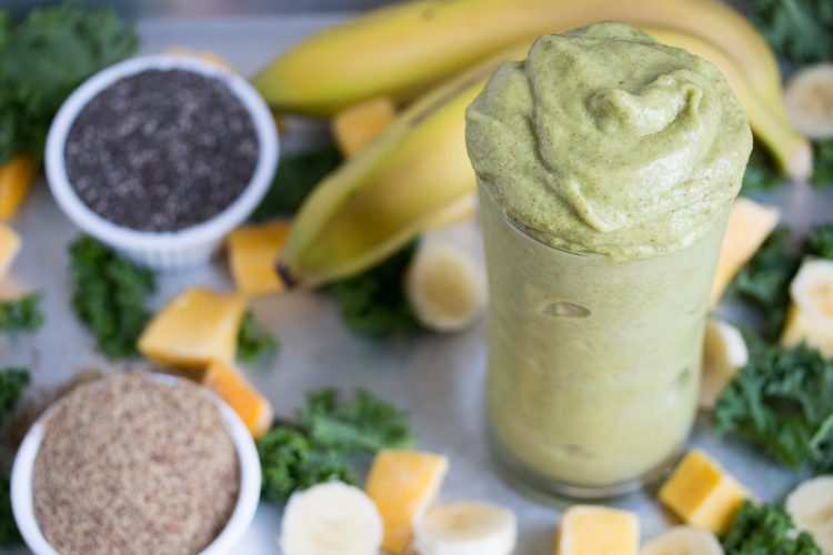 Jamba Juice Kale Ribbean Breeze Recipe - No Diets Allowed #Food #Foodie