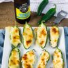 Easy Low Carb Baked Jalapeno Poppers