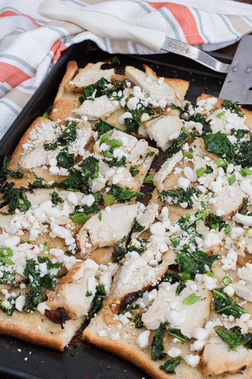 Thanksgiving Leftover Pizza Recipe - No Diets Allowed #Pizza #Turkey #Food #Foodie