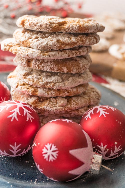 Easy Soft Gingerbread Cookies Recipe - No Diets Allowed #Cookies #Foodie #Food #GingerBread