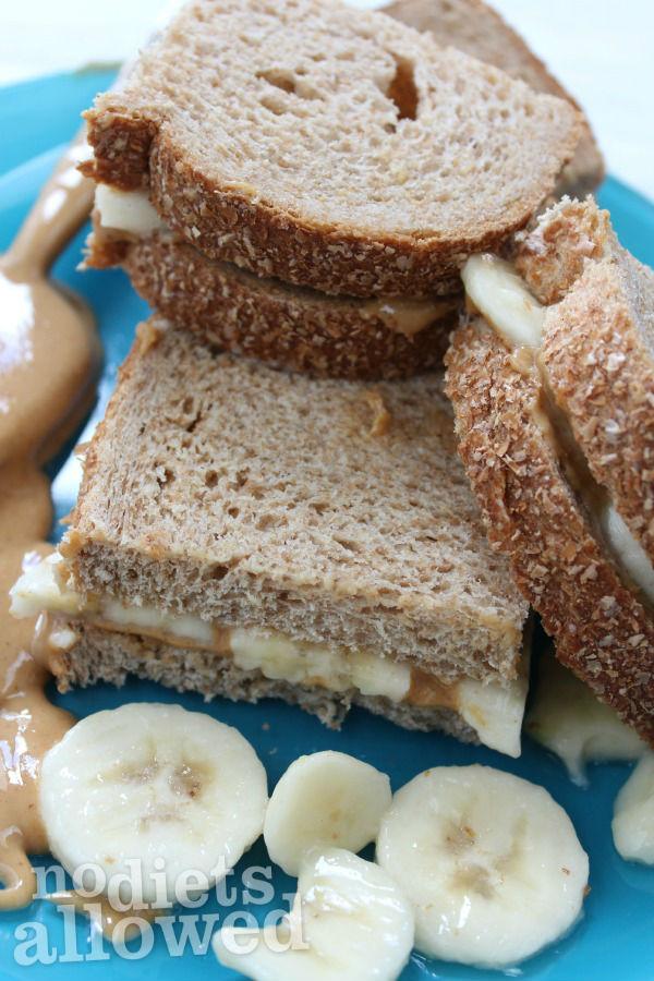 PB&Banana- No Diets Allowed