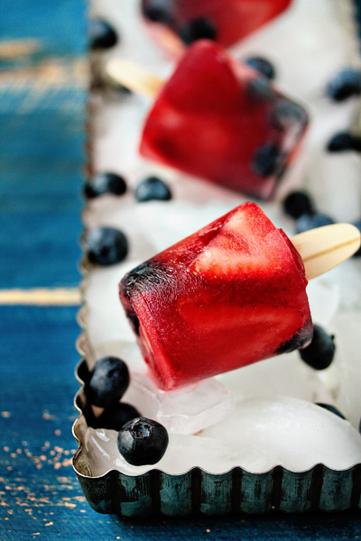 Mini Berry Pops- No Diets Allowed
