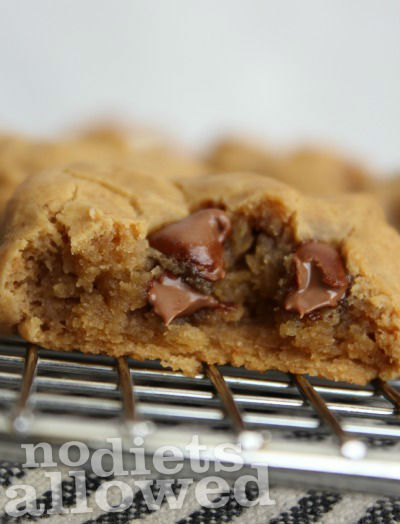PEANUT BUTTER CHOCOLATE CHIP COOKIE BITES- No Diets Allowed
