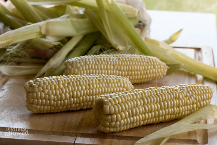 best grilled corn on the cob- No Diets Allowed