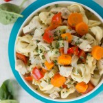 tortellini chicken soup- No Diets Allowed