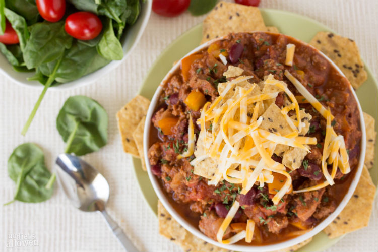 turkey chili recipes - No Diets Allowed