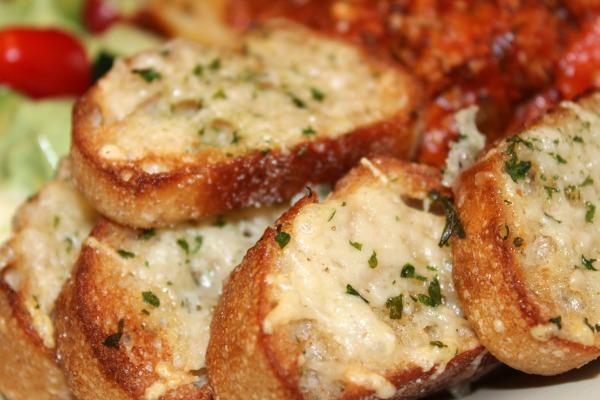 Parmesan Baguettes- No Diets Allowed