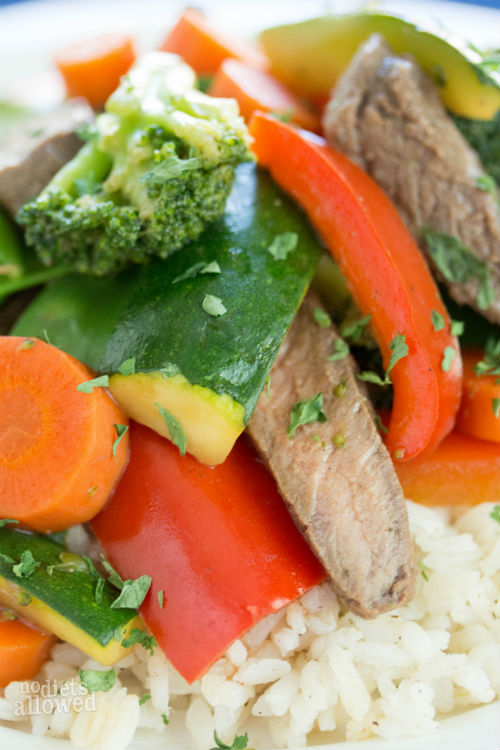 steak stir fry recipe - No Diets Allowed