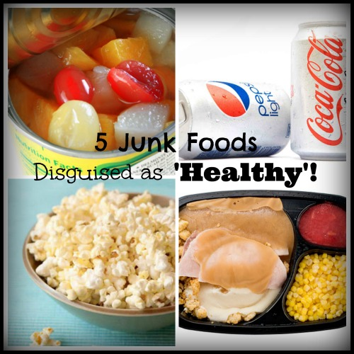 5 Junk Foods Disguised as 'Healthy'- No Diets Allowed