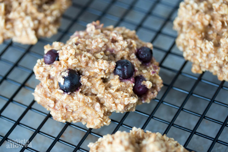 healthy oatmeal breakfast cookie recipe - No Diets Allowed