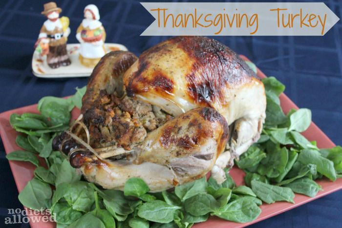Thanksgiving Turkey- No Diets Allowed