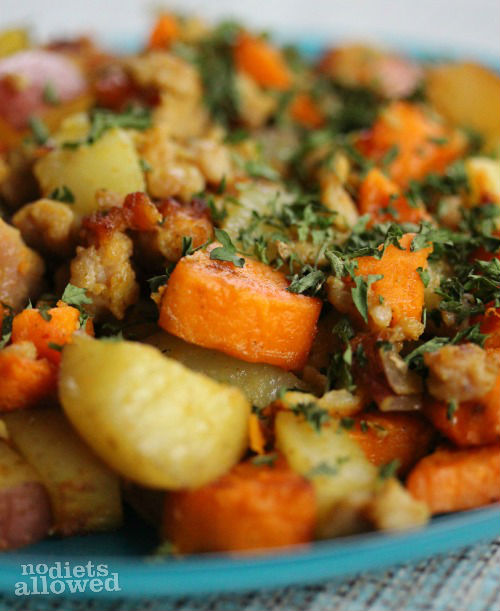 breakfast potatoes recipe- No Diets Allowed