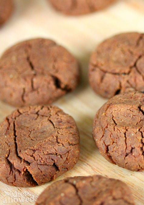 chocolate cookie recipe- No Diets Allowed