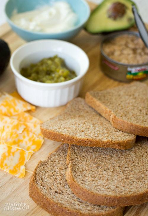 tuna sandwich recipe- No Diets Allowed
