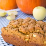 Pumpkin Apple Bread - No Diets Allowed