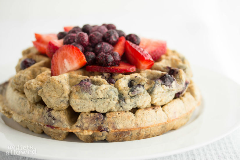 healthy blueberry recipes – No Diets Allowed
