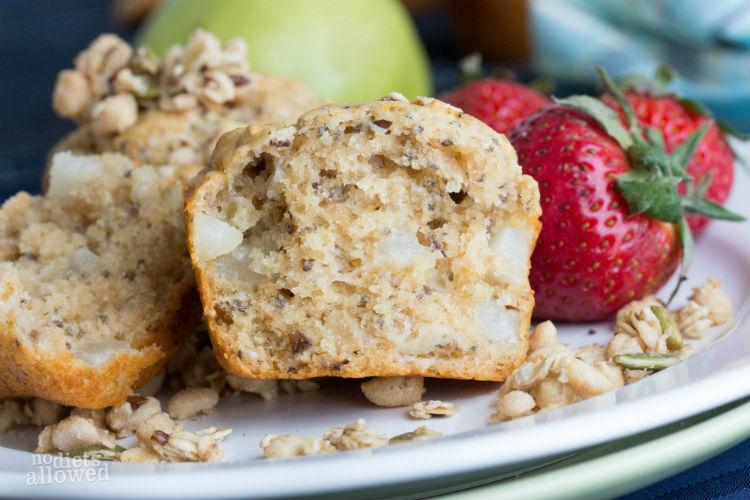 pear muffin recipe - No Diets Allowed