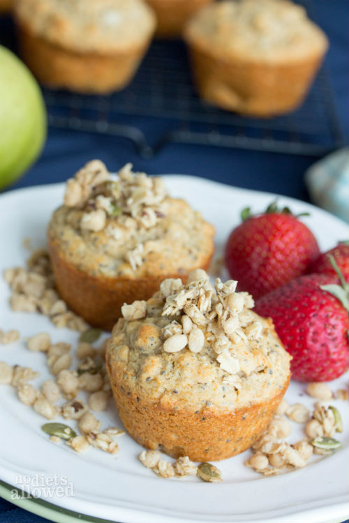 pear muffin recipes - No Diets Allowed