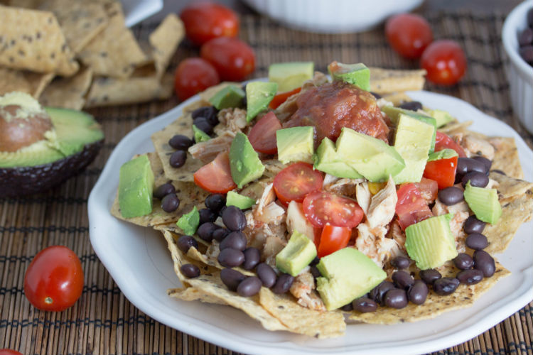 chicken nachos - No Diets Allowed
