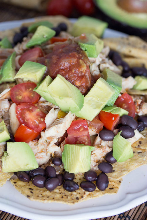chicken nachos recipe - No Diets Allowed