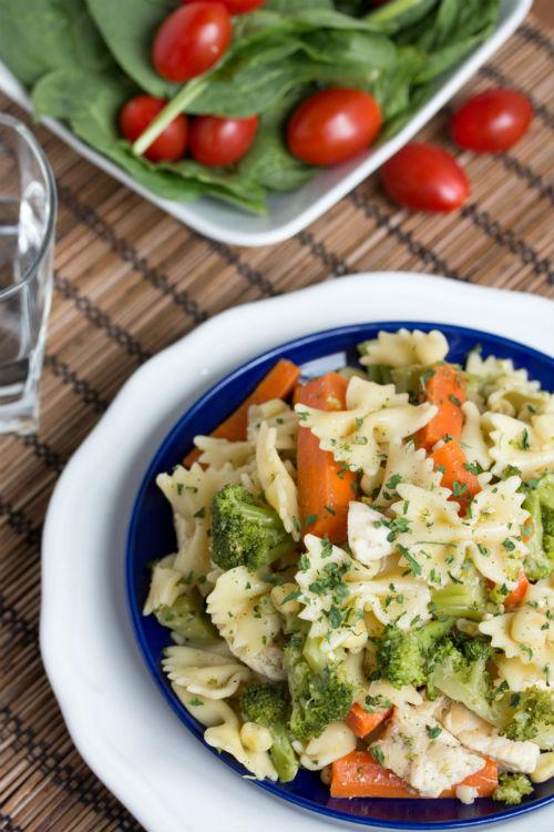 garlic chicken pasta recipes - No Diets Allowed