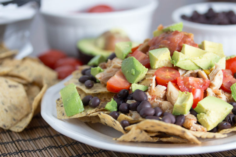 healthy nachos - No Diets Allowed