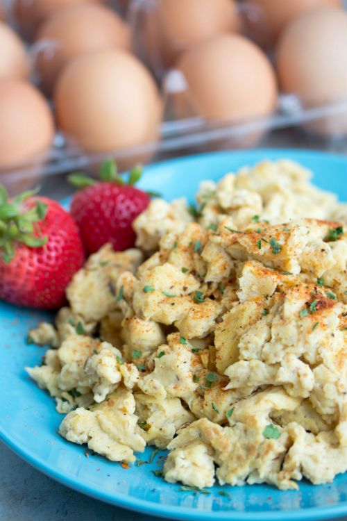 scrambled eggs recipes - No Diets Allowed